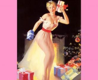 elvgren-christmas_eve_waiting_for_santa